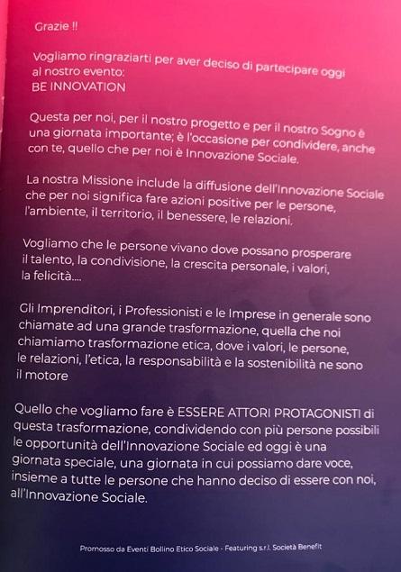 be innovation 2020 - 1