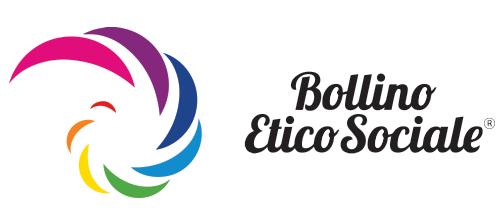 bollino etico sociale logo orizzontale
